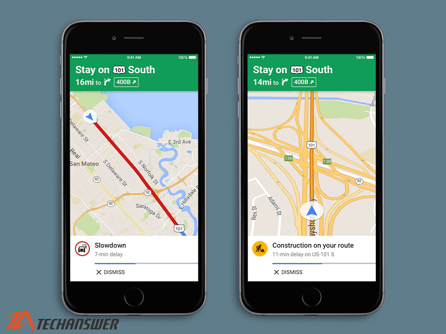 Google Maps for iOS Update Finally have Spoken Traffic Alerts